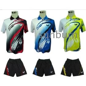 free shipping !2013 New butterfly Mens Badminton / Table Tennis clothes  Shirts size:M/L/XL/XXL/3XL/4XL
