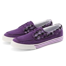VANCL Armando Canvas Boat Cipő (Férfiak) Purple SKU: 169999