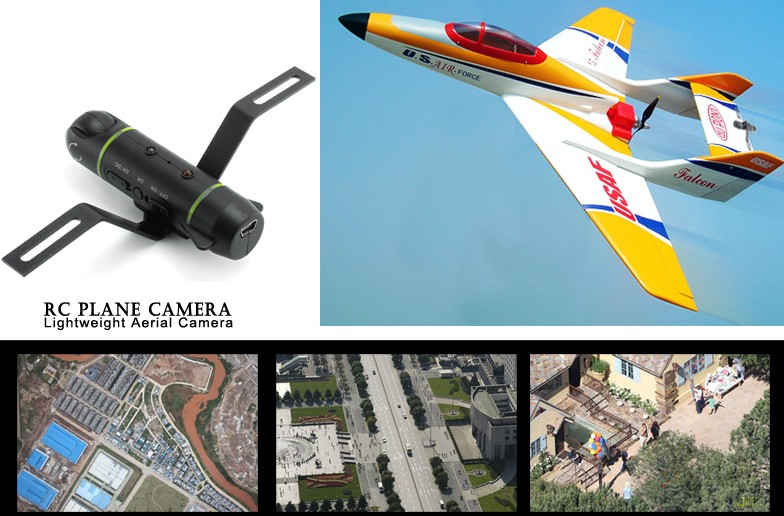 2GB RC Plane Helicopter Camera - Lightweight Aerial Sports Camera FLY DV