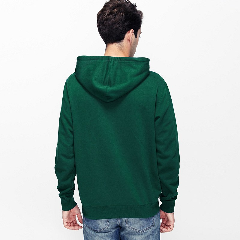 Dark Green Hoodie Mens | Fashion Ql