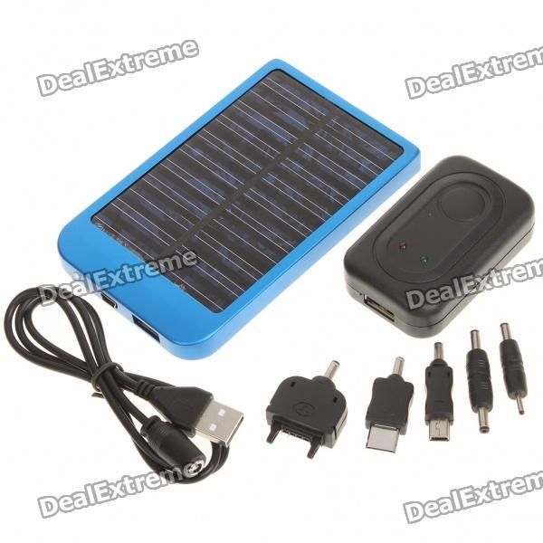 Portable Solar Ac Usb Powered 2600mah Battery W