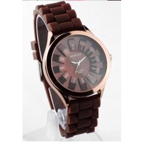 Free Shipping factory wholesale new fashion WOMAGE 9665 quartz watch watch silica gel watch    03