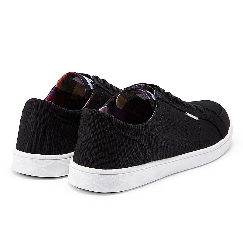 Nike Plain Black Canvas Shoes