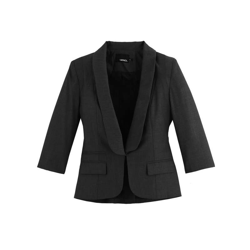 Women's Essential Blazer by Blair, Black, Size Long Coats & Jackets by Blair. Comes in Black, Size A classic that's forever in style. Shoulder pads give it .