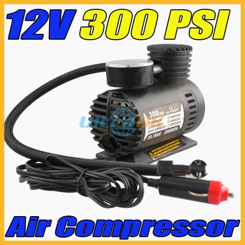 12v 300 psi portable auto electric car pump air wholesale new 12v 300 psi portable auto. Black Bedroom Furniture Sets. Home Design Ideas