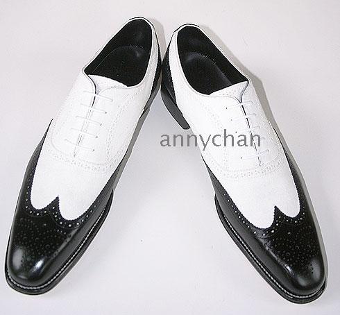 trendsepatupria: Black And White Dress Shoes For Men