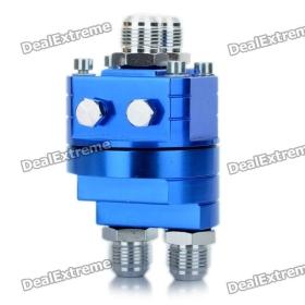 Autó DIY motor hűtőrendszerét osztott Oil blokk Adapter - Blue SKU: 116934