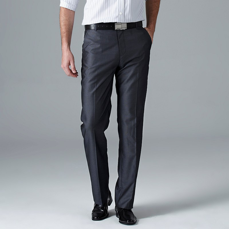 Long dress pants navy