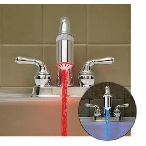 Free shippin!20PCS- Water Glow LED Faucet Light Temperature Sensor as  TAP SENSOR
