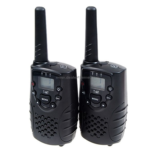 how to set walkie talkie frequency