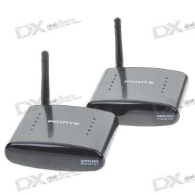 2,4 GHz-es 4-CH RF vezeték nélküli AV adó / vevő Set (Max. 300m / 100V ~ 240V) SKU: 39.955