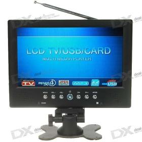 """9"""" szélesvásznú TFT LCD színes TV Monitor távirányító szett SKU: 45166"""