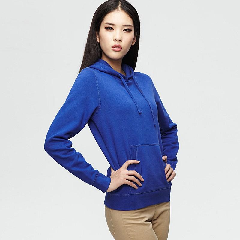 Plain royal blue hoodie
