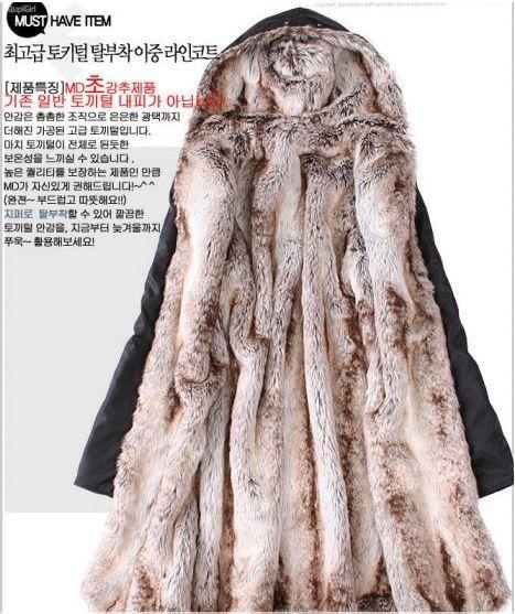Free Shipping fur lining women's fur coats winter warm long coat jacket clothes wholesale >02adfa