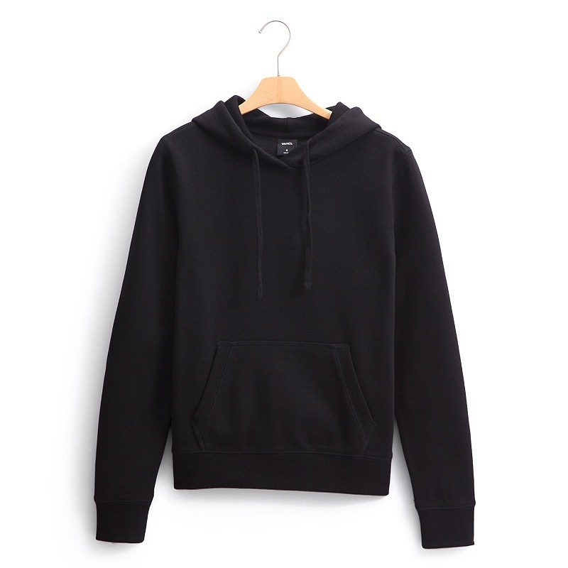 All Black Hoodie Pullover | Fashion Ql