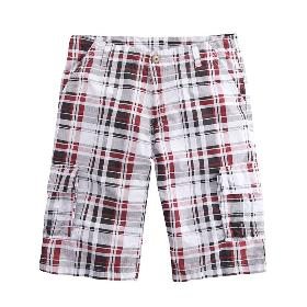 VANCL Regan Casual Cotton Shorts (Men) Red SKU:301148