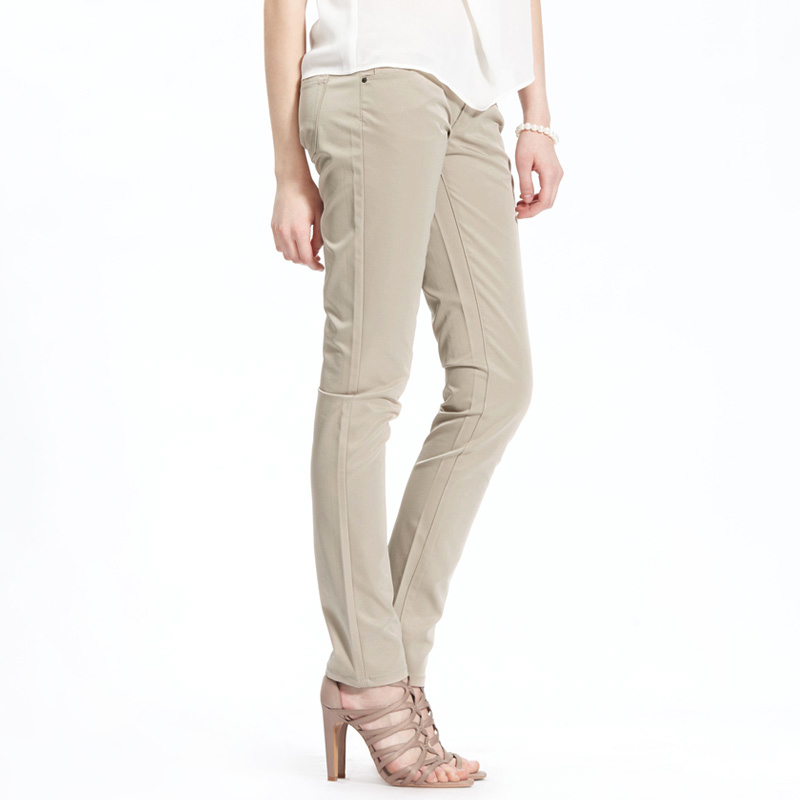 VANCL Slim Cut Business Casual Pants s Khaki SKU - סיטוני VANCL ...
