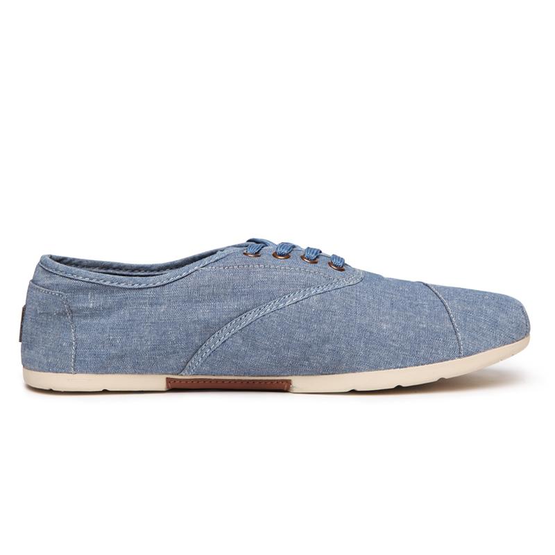 vancl simple canvas shoes s denim sku 52175
