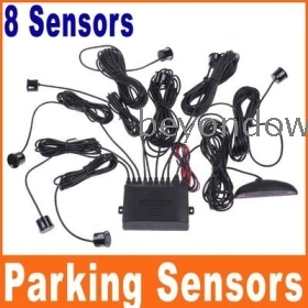 Dropshipping Car LED Display Parking Reverse Backup  Buzzer System with 8 Sensors K454 Free Shipping Dropshipping