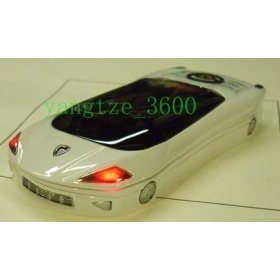 Free shipping  F8  Unlocked NEW Quad band Car mobile SIM slide sports car cell phone  Hot salling  good gift F599+