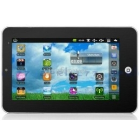 free shipping 7 inch screen Android 2.2 Camera Tablet PC Epad 2 VIA 8650 800MHz 2GB 3G WIFI Flytouch 3 X220 ZT-180 Apad