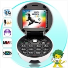 Free shipping   Mobile Phone Football GSM Unlocked MP3 Hot salling  good gift