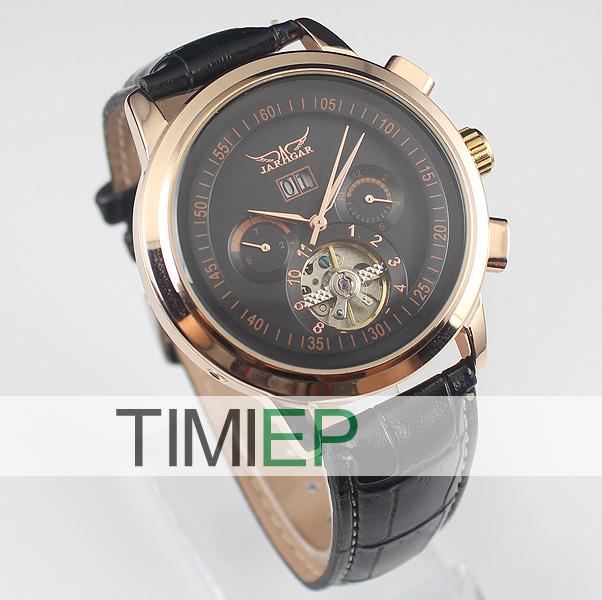 Nice Gold Tone Luxury Elegant Auto Mechanical Men 39 S Wrist