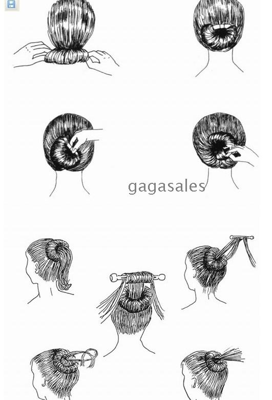 100pcs Lots Flexo Fashion Hair Band Coiffure Wholesale
