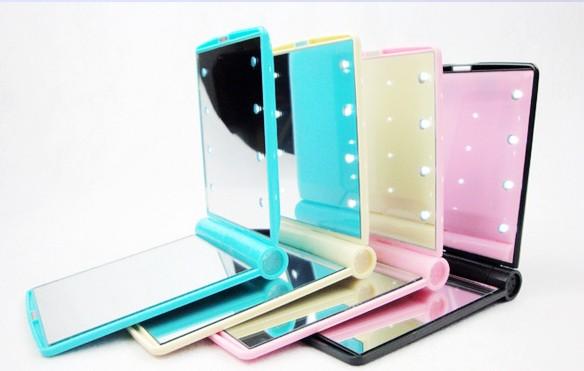 Led Make Up Mirror Compact Hand Makeup Mirror 8