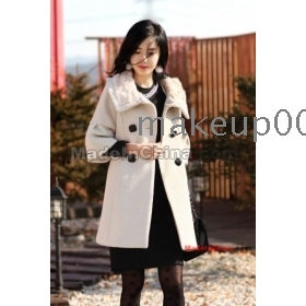 Qiu dong outfit 2011 new rabbit fur coat NeZi coat ladies bring warm double platoon to buckle warm coat