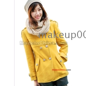 2011 autumn outfit new han edition round short coat brought from winter clothing coat dress coat coat students