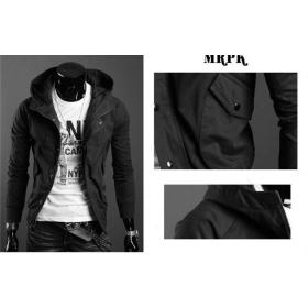 hot sale!!! free shipping brand new men's Fashion recreational coat joker's jacket clothing size M L XL ---8