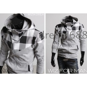 Promotion price !!!free shipping brand new men's clothing SWEATER fleeces Thick coat clothing size M L XL XXL ---8