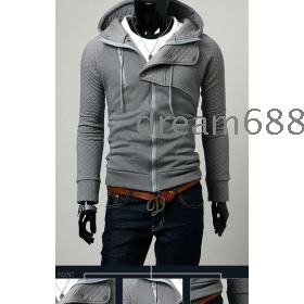 Promotion price !!! free shipping brand new men's clothing SWEATER fleeces Thick coat clothing size M L XL XXL --8