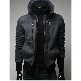 Promotion price !!!  free shipping brand new men's Thickening knitting coat clothing size M L XL XXL