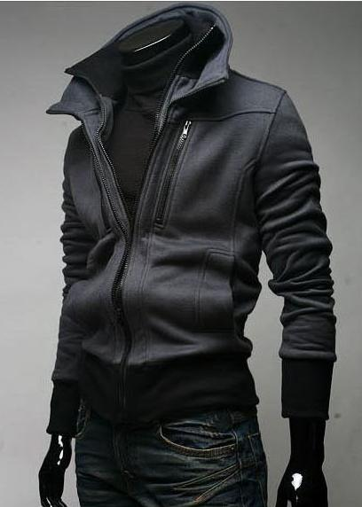 Promotion price !!! free shipping brand new men's Thickening knitting coat clothing size M L XL XXL v1