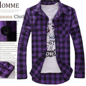 горячей продажу ! бесплатной доставкой новые мужские с длинным рукавом рубашки с длинными рукавами футболки Размер ML XL XXL --- 8