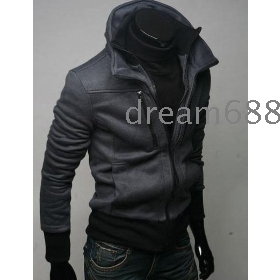 hot sale brand new men's SWEATER coat thick knitting clothing faddish  clothes b5