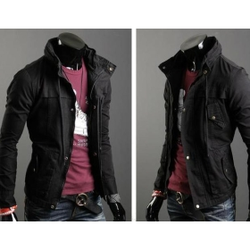 Promotion price!!! free shipping brand new men's clothing thick recreational jacket coat size M L XL XXL ---8