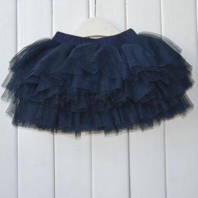 29012 navy blue kid s classical tutu skirt wholesale