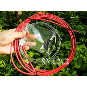 Free shipping jagwire Housing Cable Brake Shifter Kit Red Hose