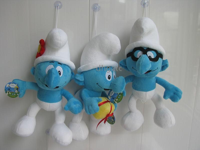 Engros Smurf Plush Doll leget j Action figurer - Engros Engros - Smurf Plush Doll legetøj Action ...