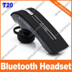 New Wireless Bluetooth Headset T20  Black