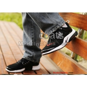 New winter men's shoes recreational shoe leather in the British nap skin a han edition fashionable department belt type of running shoes