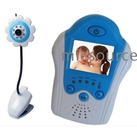2.4GHz digital 1.5 inch TFT LCD Wireless Baby monitor and IR camera Voice Control monitors security GT05H Free Shipping