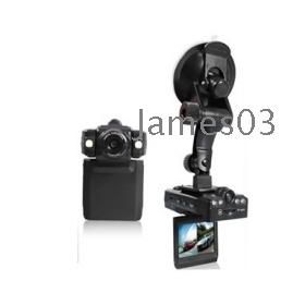 Free Shipping Car Black Box GT-128 Dual lens DVR with 2.0`` TFT LCD screen Car DVRs