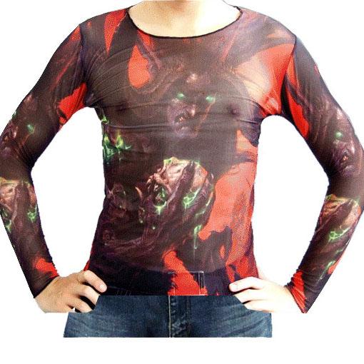 Wholesale Newest Fashionable Long Sleeve Tattoo Tee Shirts