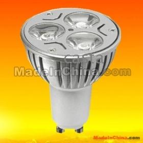 Hot eladási GU10 3X3W 9W 85V-265V Meleg Hideg fehér, NW LED mennyezeti Spotlight LED izzók
