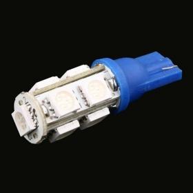 9 5050 SMD LED רכב T10 W5W 194 927 161 כחול Bulb Side וודג אור מנורה, נוריות החיווי, 20pcs / הרבה, משלוח חינם