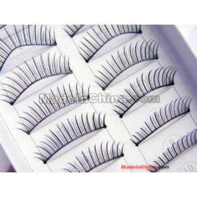 free shipping!!! 100 Pairs Long False Eyelashes Eye Lashes Makeup,Beautiful eyelash